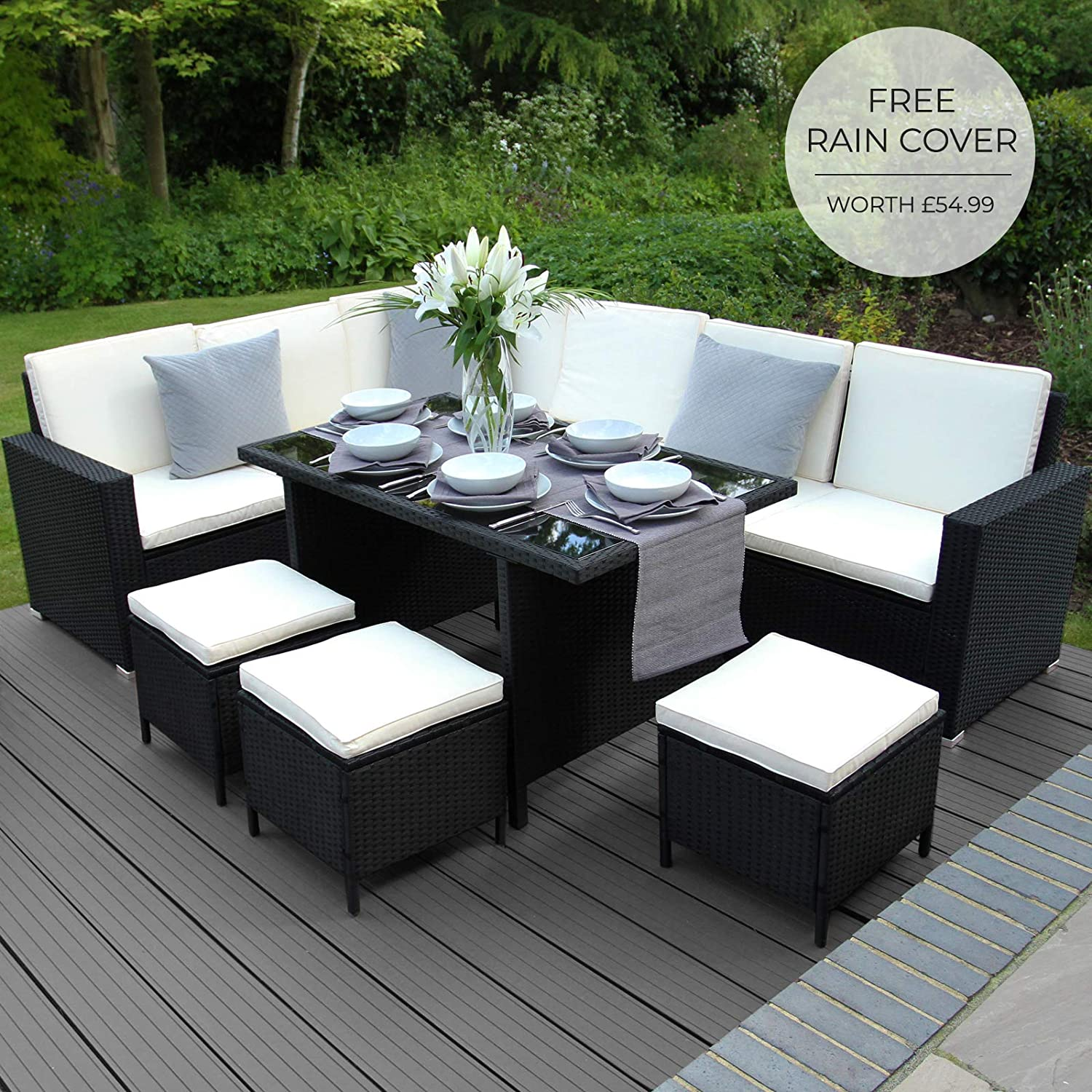 black friday rattan garden furniture