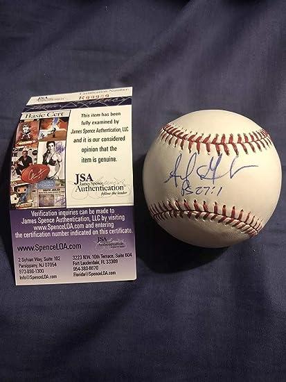 b125927f47bde Adrian Gonzalez Autographed Signed Memorabilia RoMLB Baseball Boston Red Sox  JSA Autographed Signed Memorabilia La Dodgers at Amazon s Sports  Collectibles ...