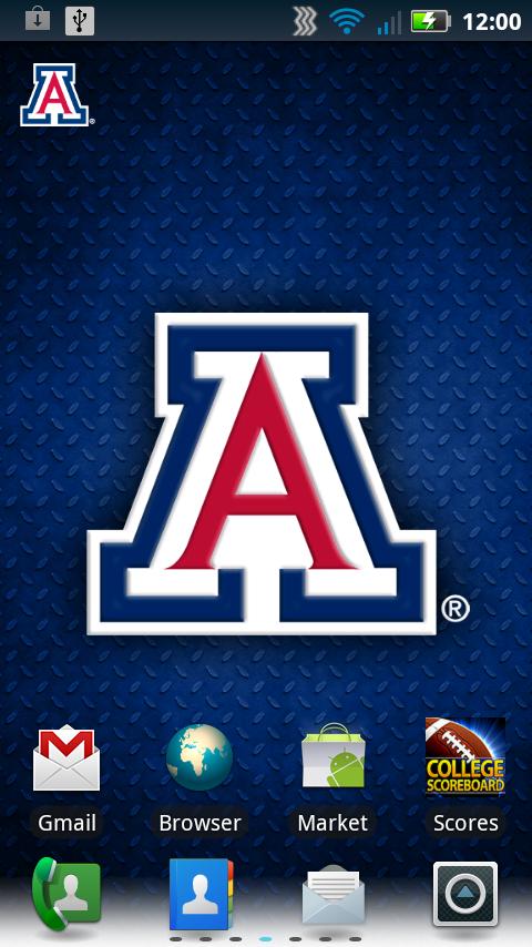 Arizona Wildcats Revolving Wallpaper