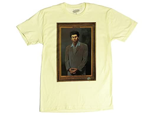 20f832e3f Amazon.com: Ripple Junction Seinfeld Kramer Photo Adult T-Shirt ...
