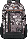 """Solo North7th 15.6"""" Laptop Backpack, Tan/Orange"""