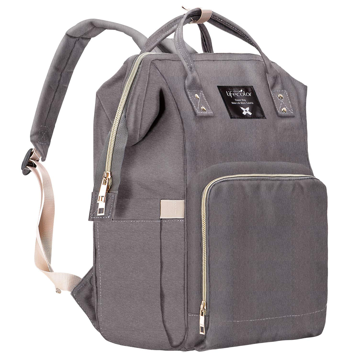 d2e6945d811e Lifecolor Diaper Bag Multi-functional Nappy Bags Waterproof Travel Mom  Backpack for Baby Care