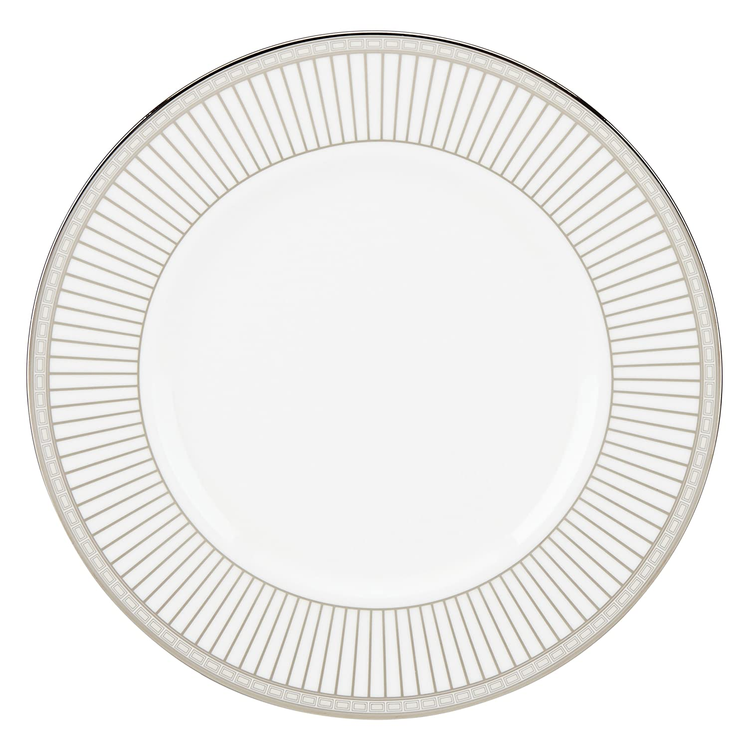 Lenox Murray Hill Platinum-Banded Bone China 5-Piece Place Setting, Service for 1 6229942