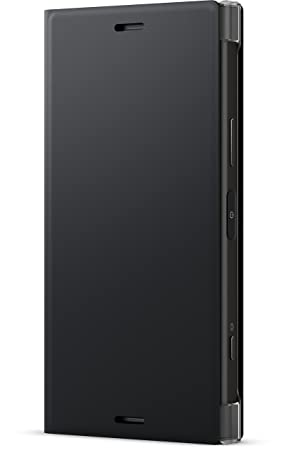 finest selection 72406 5d986 Sony 1309-6047 Style Cover Stand Case for Sony Xperia XZ1 Compact - Black