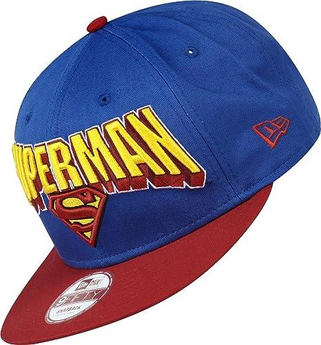 New Era Hero Block Superman Gorra S M  Amazon.es  Deportes y aire libre 793b6171544