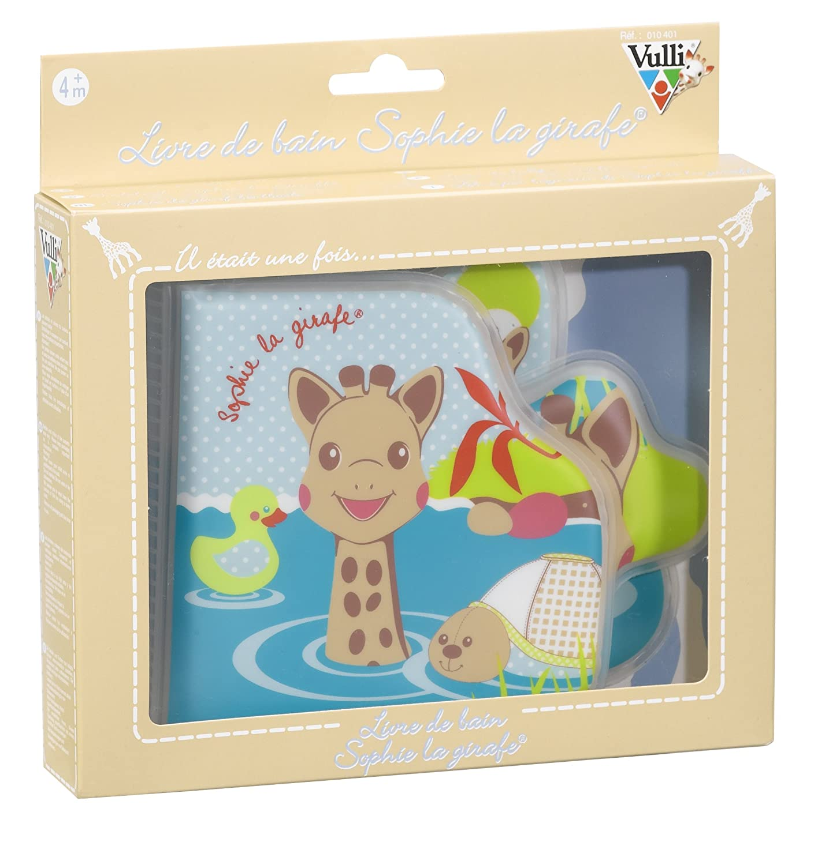 Amazon.com : Vulli Bath Book Sophie la girafe : Bathtub Toys : Baby
