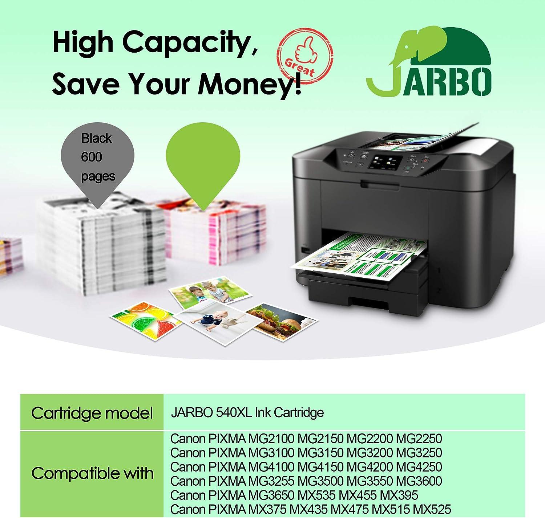 Ricariche inchiostro della stampante per Canon Pixma mx375 mx395 mx435 mx455 mx515 mx525