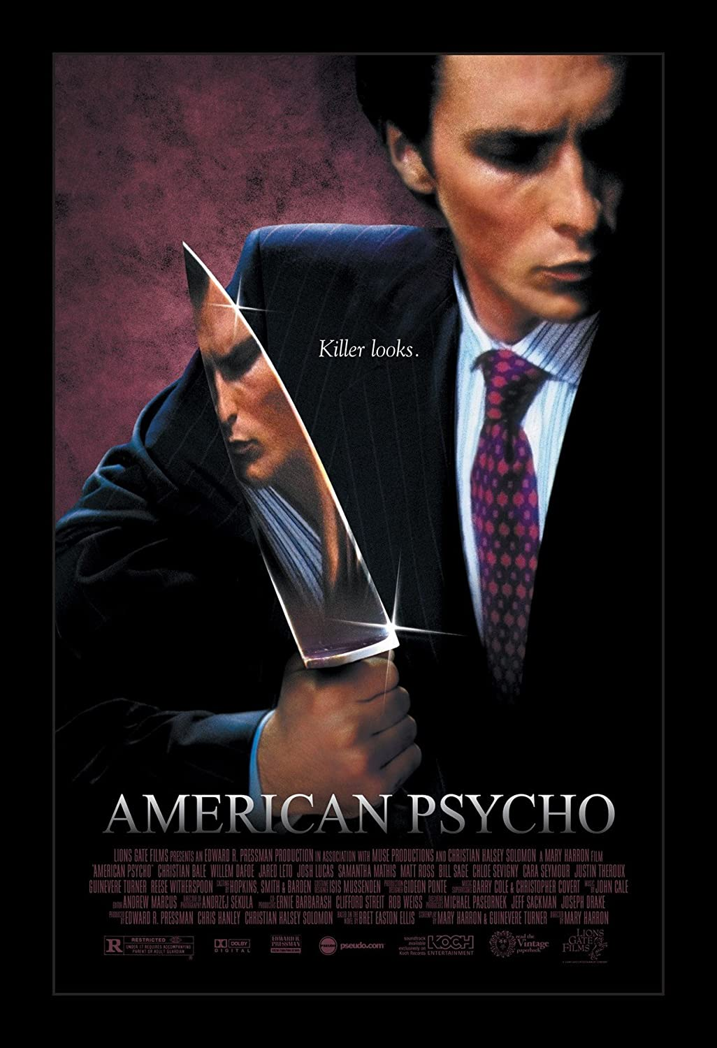 Amazon.com: Wallspace American Psycho - 11x17 Framed Movie Poster: Posters  & Prints