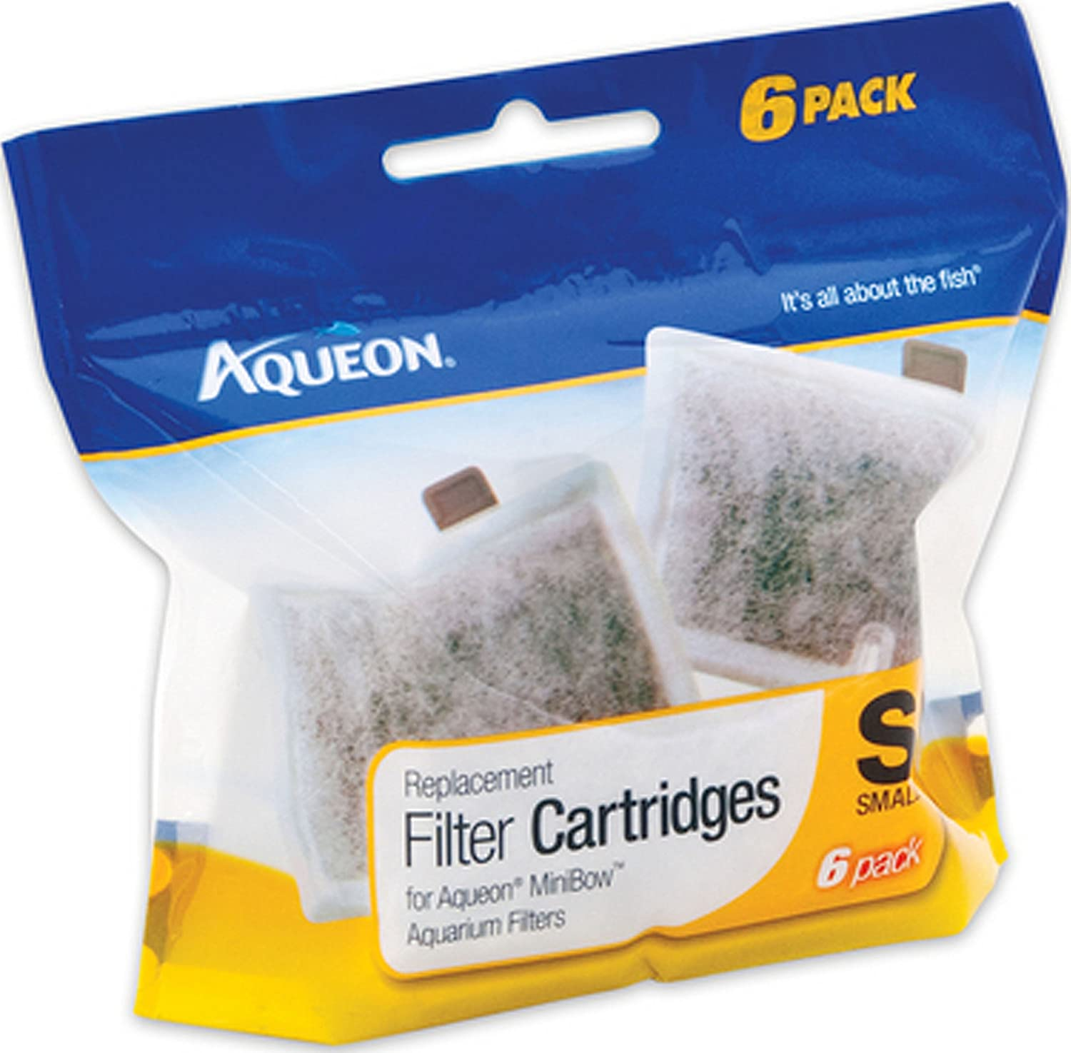 Aqueon Products-supplies-Aqueon Filter Cartridge Small/6 Pk