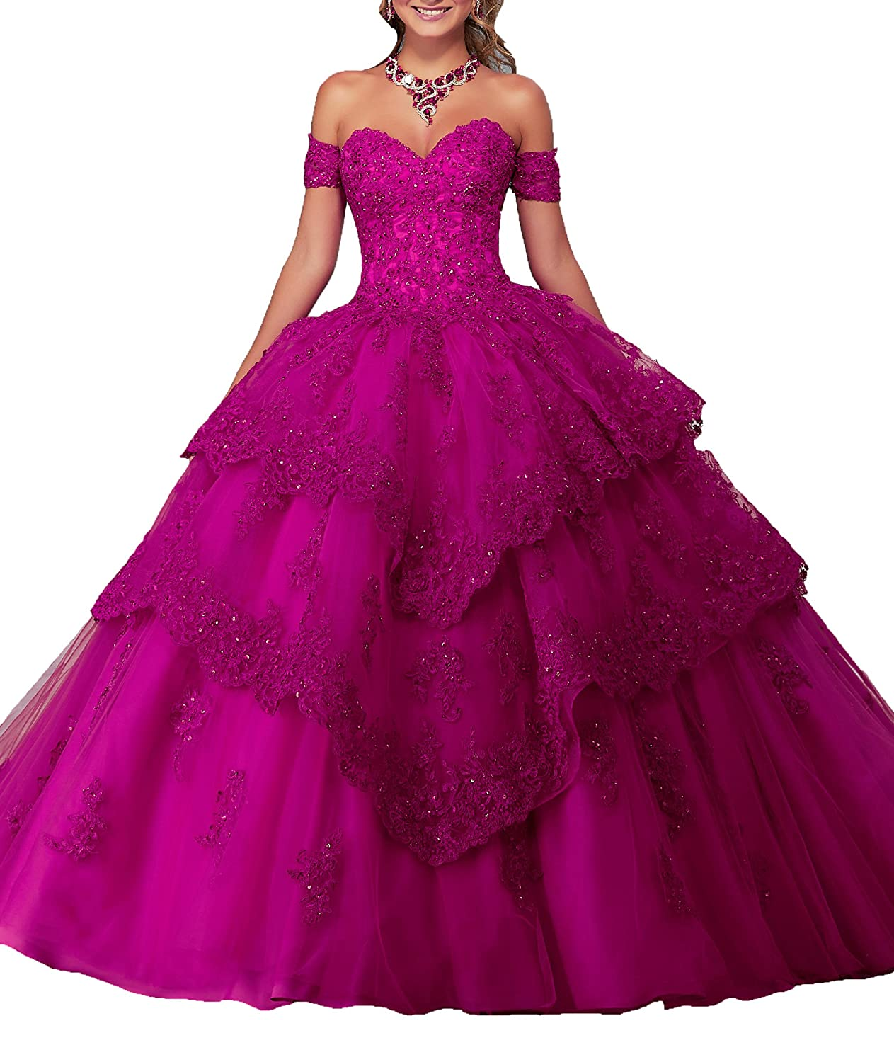 Yang B076TH7ZQR New Sweetheart 16 Quinceanera 16 Vestido Novia de ...