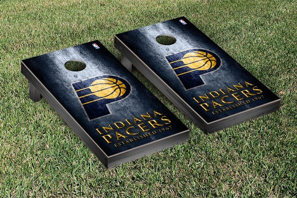 Indiana Pacers NBA Regulation Cornhole Game Set Museum Version