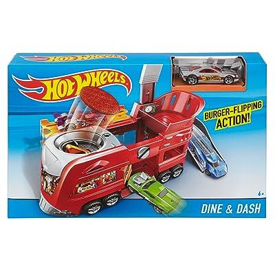 Hot Wheels Dine & Dash Playset: Toys & Games