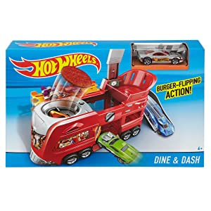 Hot Wheels Dine & Dash Playset