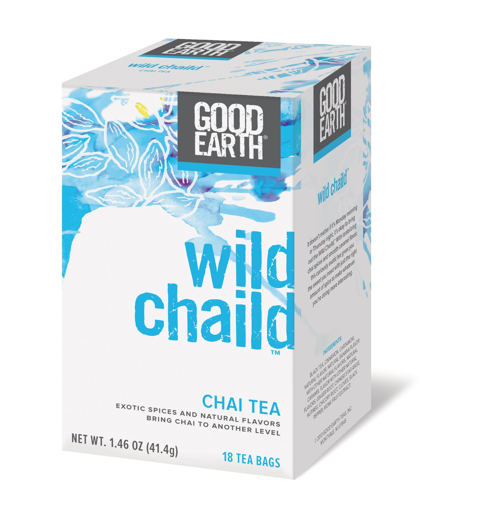 GOOD EARTH TEA,CHAI,ORIG,S1351386, 18 BAG