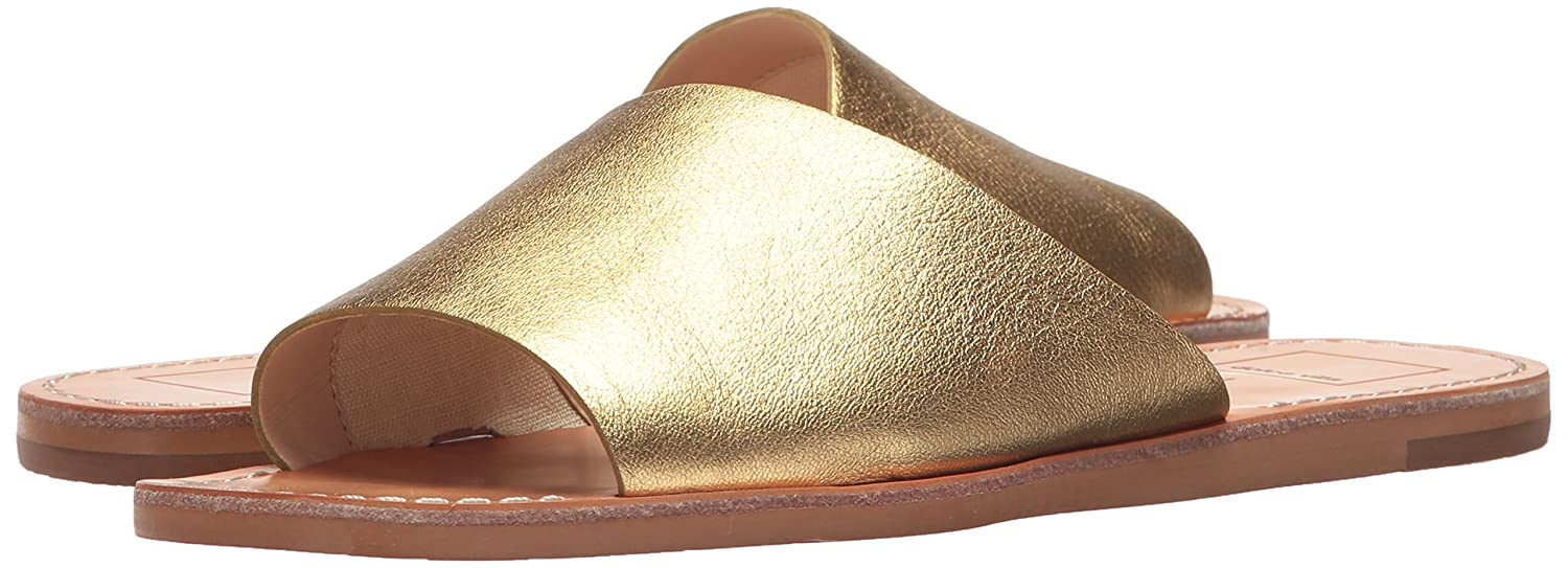 Dolce Vita Women's Cato Slide Sandal B0784HHQN7 6.5 M US|Gold Leather