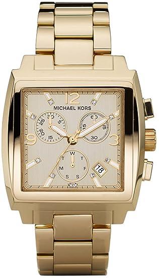 Michael Kors MK5330 - Reloj para mujeres, correa de acero inoxidable color dorado: Michael Kors: Amazon.es: Relojes