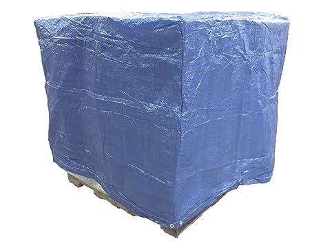 Amazon.com: 4 ft. X 5 ft. X 4 ft. Cubierta de Poly palé Azul ...