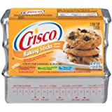 Crisco Baking Sticks Butter Flavor All-Vegetable Shortening, 20 Ounce