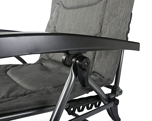 UV Resistant Lightweight Frame Supports up to 140kg Water Repellent Westfield Outdoors Foldable Reclining Zero Gravity Lounger Chair with Detachable Pillow