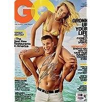 Rob Gronkowski Signed (JUNE 2016) GQ Magazine PSA/DNA - Autographed NFL Magazines photo