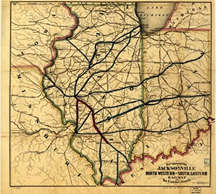Amazon.com: 1850s Railroad map of Map of Illinois & Indiana ... on baltimore and ohio railroad, norfolk southern railway, illinois mining map, illinois river map, csx transportation, illinois terminal 2301, grand trunk western railroad, illinois michigan canal trail map, canadian national railway company, lehigh valley railroad, illinois high speed rail map, southern railway, central illinois map, great northern railway, union pacific railroad, atchison, topeka and santa fe railway, illinois pennsylvania map, city of new orleans, soo line railroad, chicago, rock island and pacific railroad, northbrook mall map, burlington northern railroad, illinois western railroad, mississippi rail map, illinois city boundary map, illinois america map, illinois train map, old chicago downtown map, kansas city southern railway, dwight nd map, louisville and nashville railroad, city of miami, illinois county map, illinois central railroad, new york central railroad, illinois highway map, illinois map marion il, southern pacific railroad, pennsylvania railroad, air force bases in illinois map,