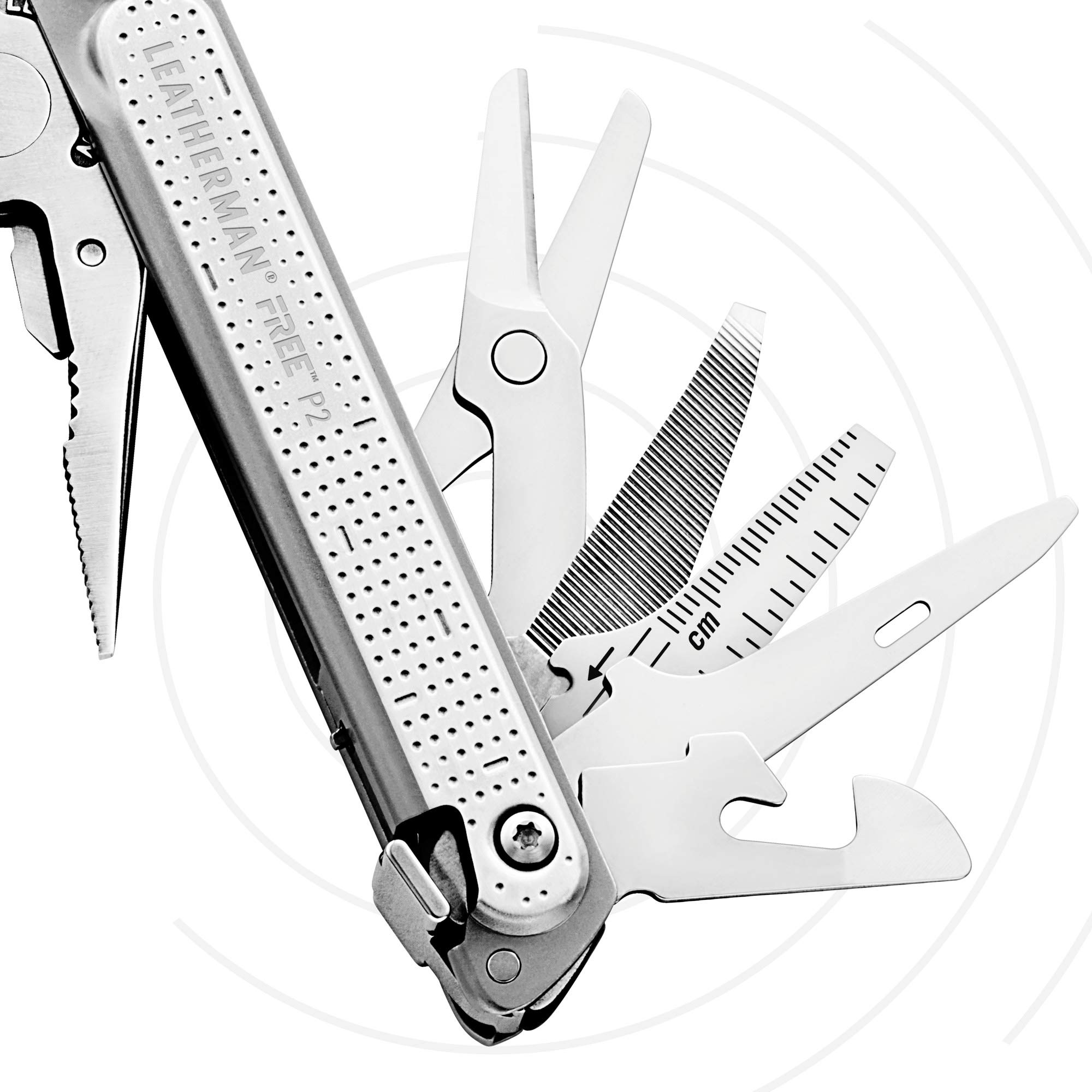 LEATHERMAN - FREE P2 Multitool with Magnetic Locking, One Hand Accessible Tools and Premium Nylon Sheath by LEATHERMAN (Image #5)