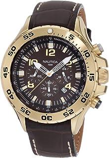 Nautica Mens Quartz Resin Silicone Watch