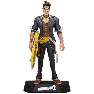 McFarlane Toys Borderlands Handsome Jack Collectible Action Figure: Toys & Games