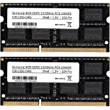 Samsung PC3 10600 Lot de 2 barrettes mémoire de 4 Go (RAM) 1333 MHz DDR3 SO-Dimm pour ordinateur portable et notebook