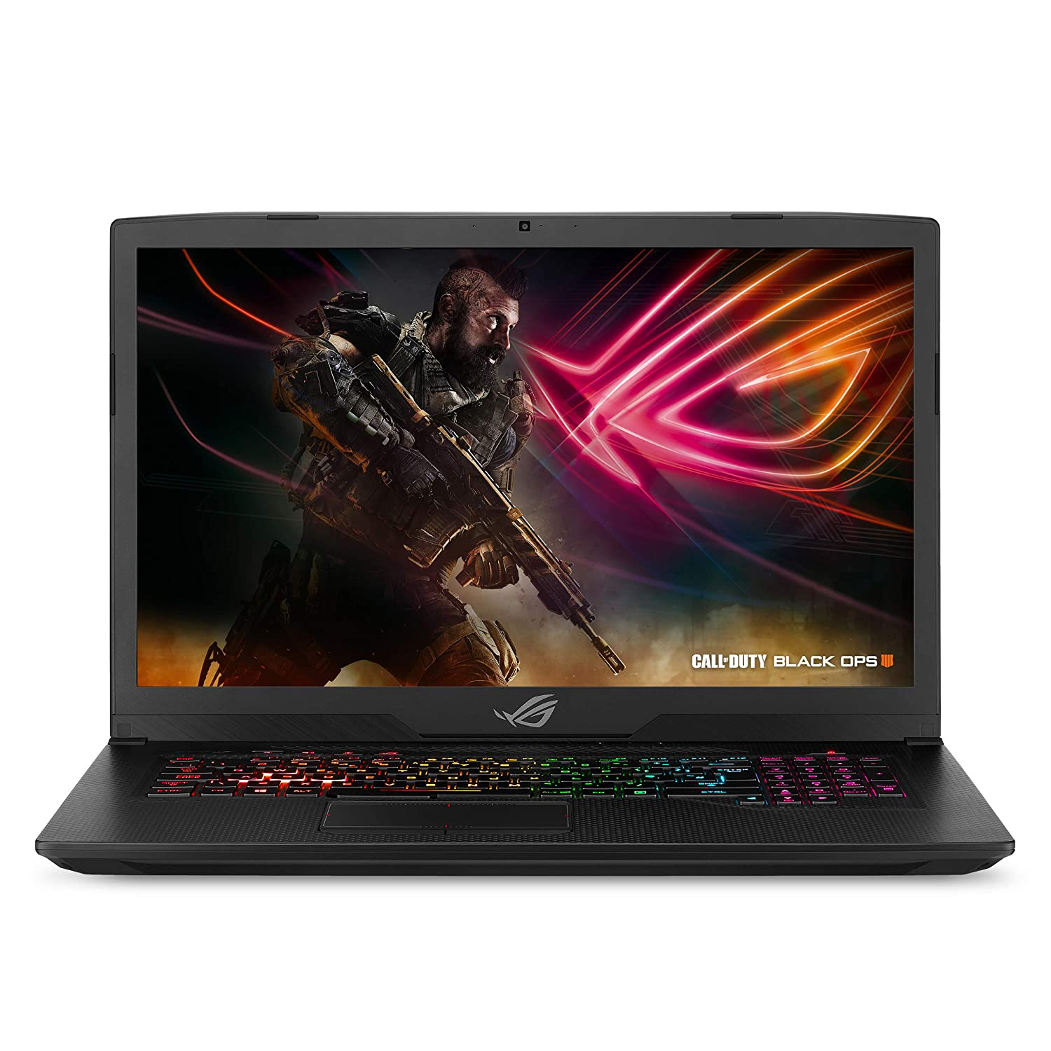 "ASUS ROG Strix Scar Edition Gaming Laptop, 17.3"" 144Hz 3ms Full HD, Intel Core i7-8750H, GeForce GTX 1070 8GB, 16GB DDR4, 256GB PCIe SSD + 1TB FireCuda, Windows 10 - GL703GS-DS74"