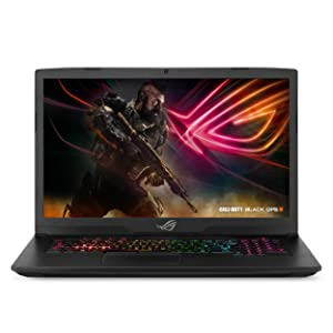 "ASUS ROG Strix Scar Edition Gaming Laptop, 17.3"" 120Hz 3ms Full HD, Intel Core i7-8750H Processor, NVIDIA GeForce GTX 1060 6GB, 16GB DDR4, 256GB PCIe SSD + 1TB FireCuda, Windows 10 - GL703GM-DS74"