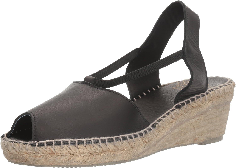 Andr/é Assous Womens Dainty Espadrille Wedge Sandal
