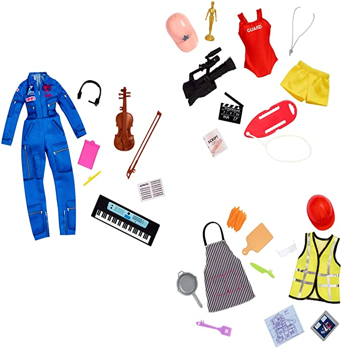 Barbie Surprise Career Pack Featuring Two Mystery Careers with Fashions and Accessories in Each Box for Ages 3 and Up