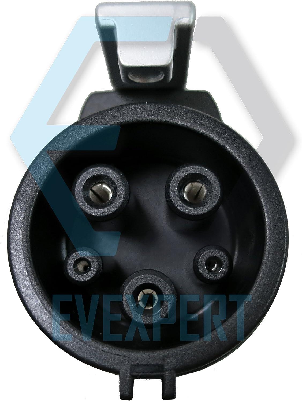 7,4 kW Monophas/é PHOENIX CONTACT Excellent c/âble de charge allemand pour v/éhicule /électrique compris un sac de transport compact Type1 Longueur: 4 m Type2 32 A mieux seconde g/én/ération
