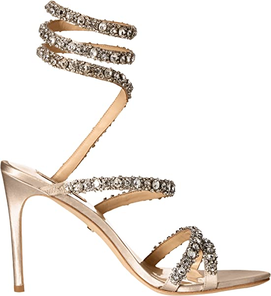 188a61aa6 Amazon.com  Badgley Mischka Women s Peace Heeled Sandal