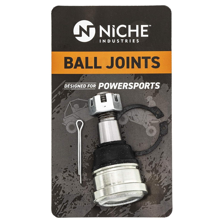 NICHE Ball Joint For Polaris 7061141 Predator 500 Outlaw 500 525 S IRS 450 MXR Upper Lower 4 Pack
