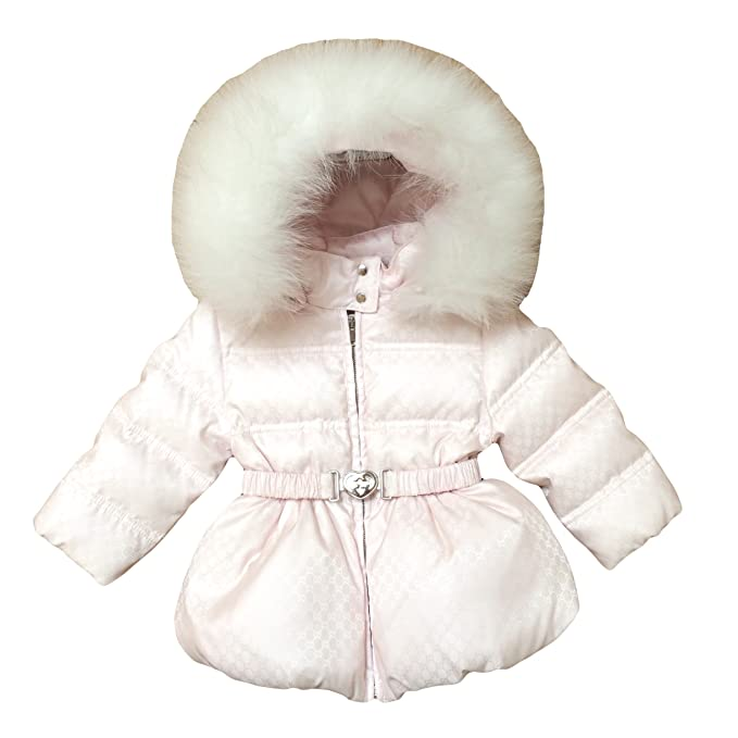 ef8ace91 Amazon.com: Gucci Baby Girl Down Coat (6/9m) Light Pink: Infant And ...