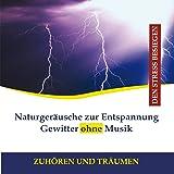 Naturgeräusche zur Entspannung - Gewitter ohne Musik