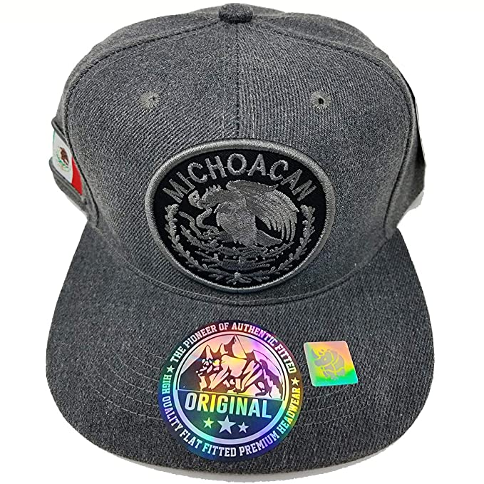 1b4abb13ed8f2 MrKap Mexico City States Patch Hat Embroidery Snapback Men Women Unisex Cap  (Michoacan