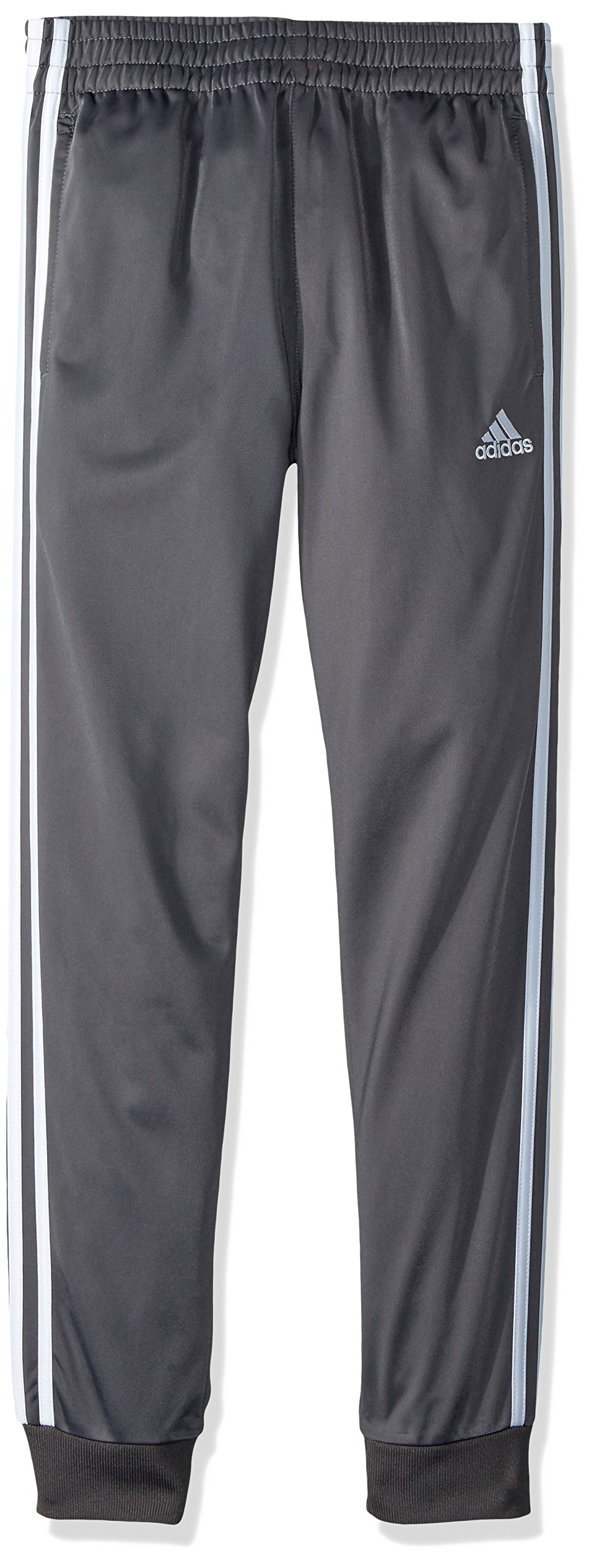 adidas Boys' Big Jogger Pant, Dark Grey Heather, X-Large