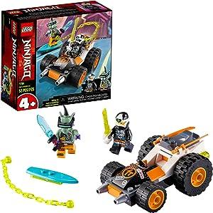 LEGO NINJAGO Cole's Speeder Car 71706 Ninja Car Building Kit, New 2020 (52 Pieces)