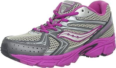 Pick SZ//Color. Little Kid Saucony Girls Cohesion 6 Lace Running Shoe