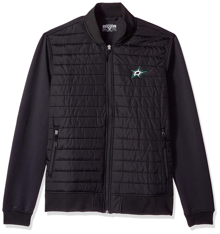 Black XLarge Levelwear Mens Anaheim Ducks Hatch Embroidered Mens Outerwear 00NE52E10147Z13E01UP