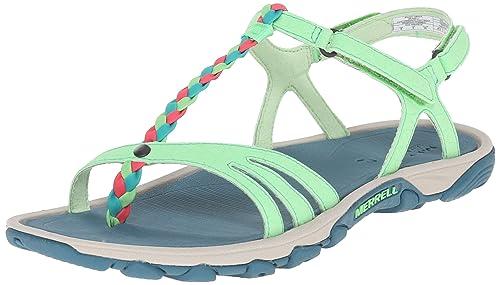 84479fe10e69 Merrell Women s Enoki Twist Strappy Sandal  Amazon.ca  Shoes   Handbags
