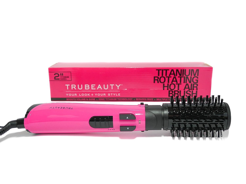 Tru Beauty Titanium Rotating Hot Air Brush Pink