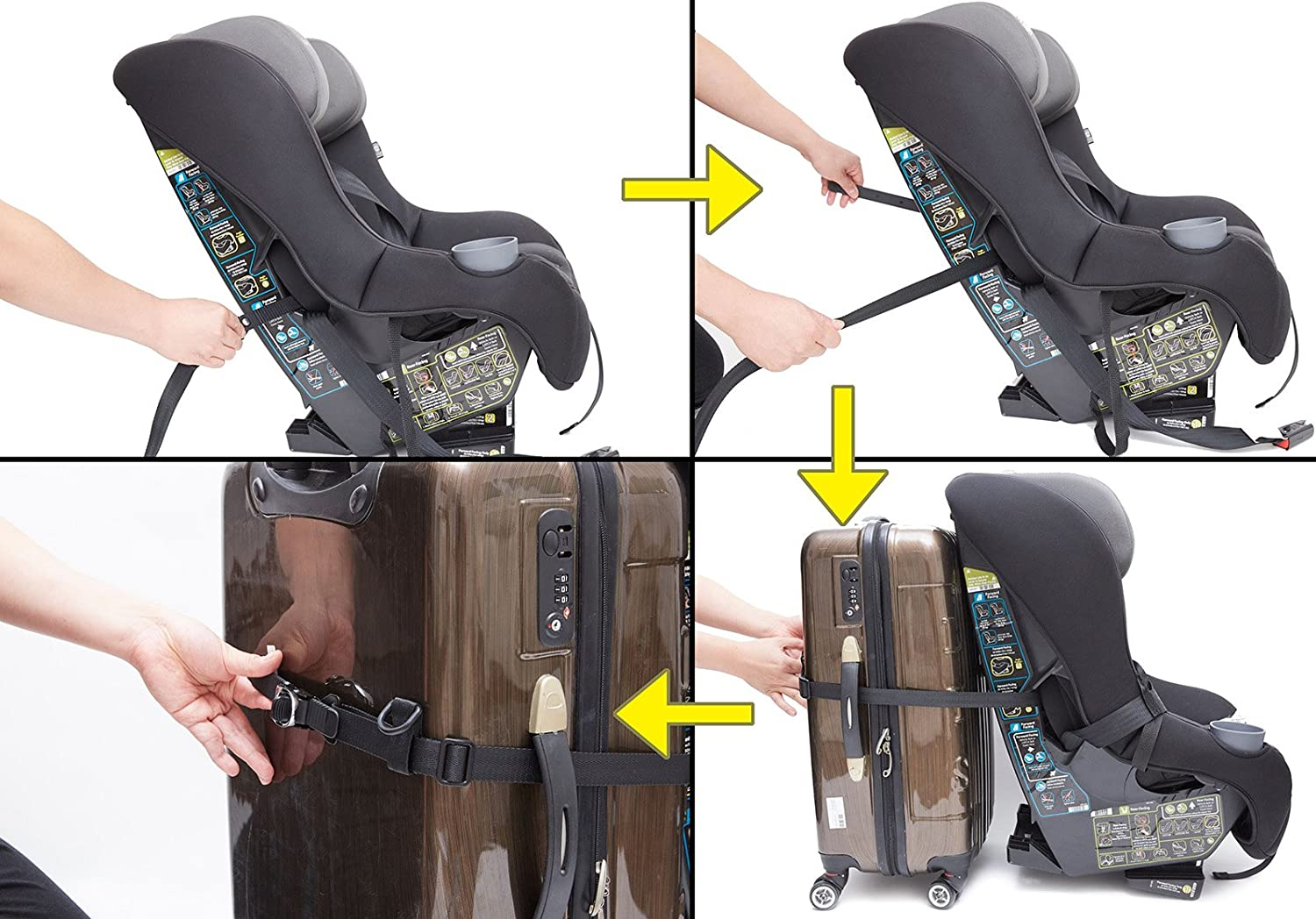Toddler Car Seat Traveling Strap Luggage Travel Accessories This Turn