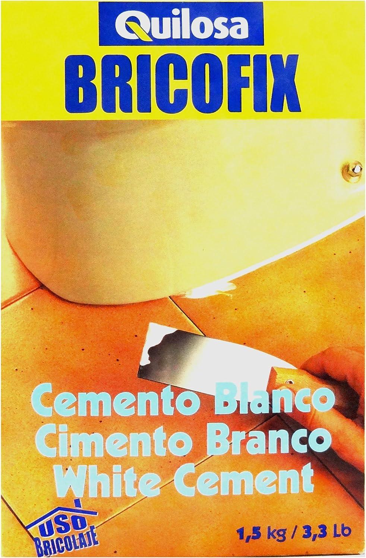 Quilosa T088138 Bricofix Cemento Blanco