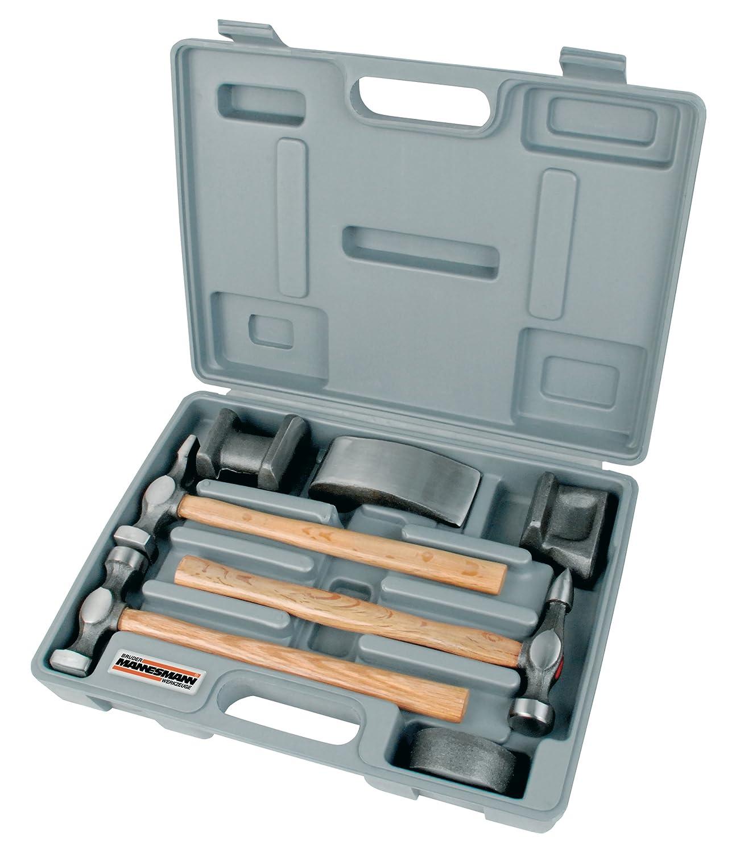 Mannesmann - M20700 - Juego para desabollar de 7 piezas, de acero forjado: Amazon.es: Bricolaje y herramientas