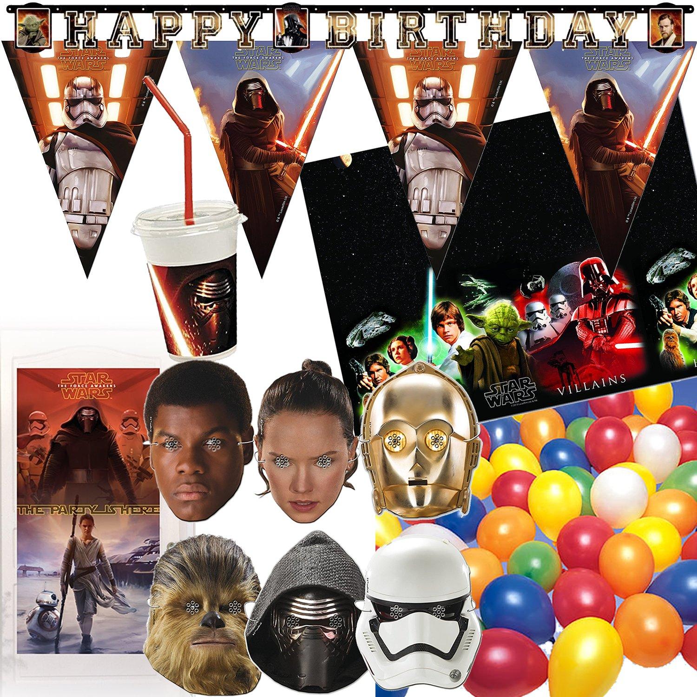 97 de piezas - Juego de decoración * Star Wars * para ...
