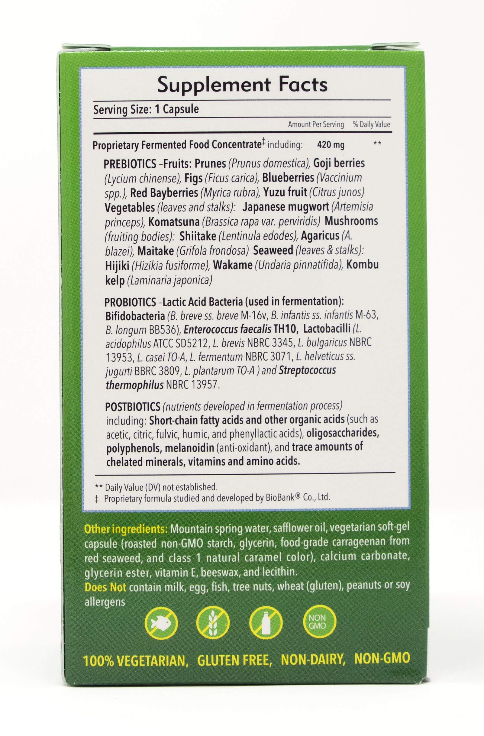 Dr. Ohhira's Probiotics, Original Formula, 60 Caps with Bonus 10 Capsule Travel Pack by Essential Formulas (Image #4)